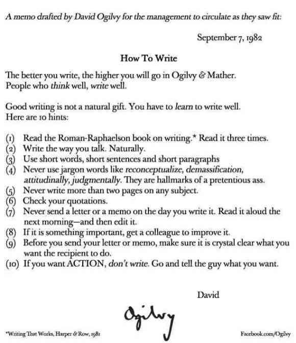Writing helps you seek clarity