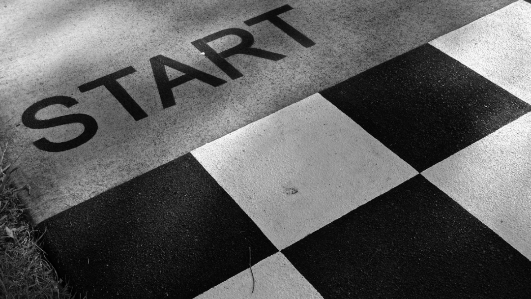 If you're struggling to get started, do it badly