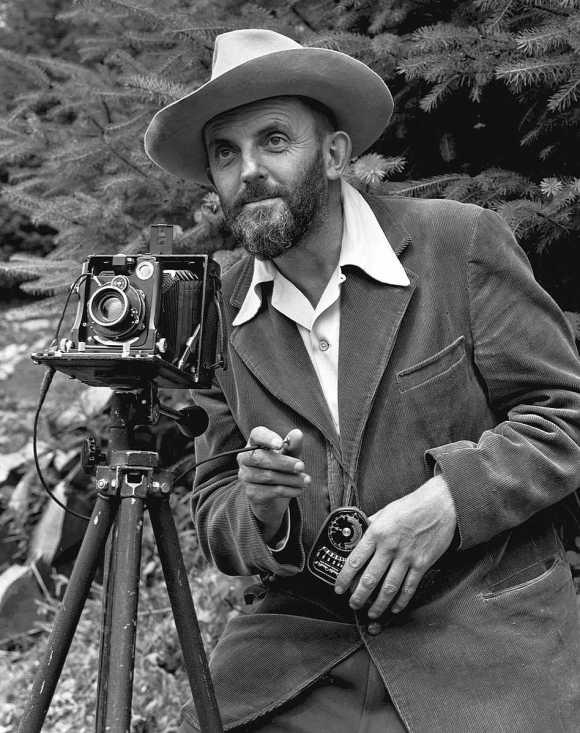 Ansel Adams Portrait