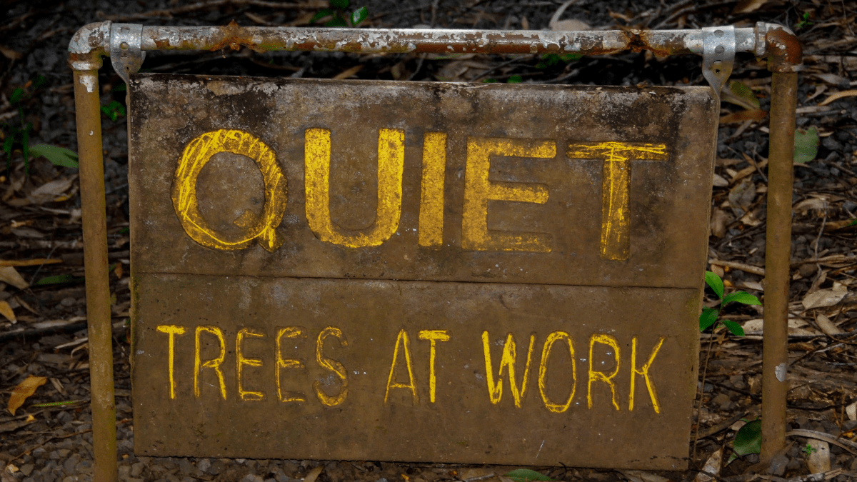 quieter times