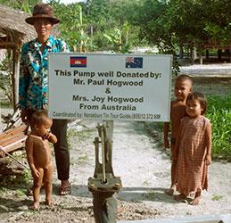 Sponsor a well