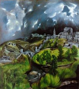El Greco - A view of Toledo