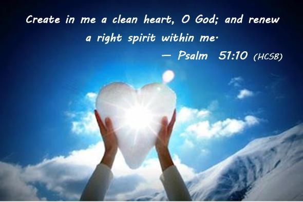 Ps 51 10 clean heart
