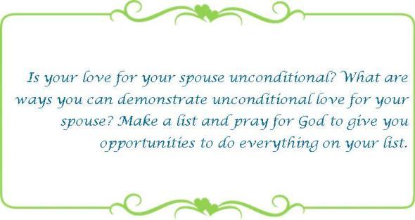 022 unconditional love