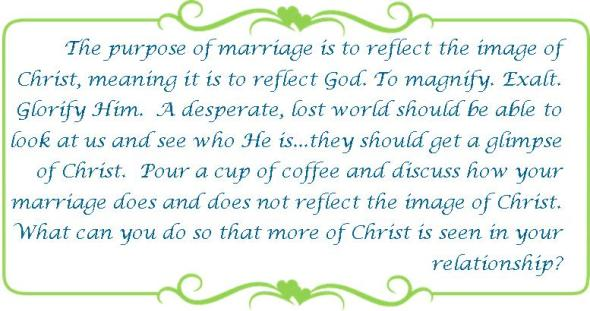 035 reflect the image of Christ