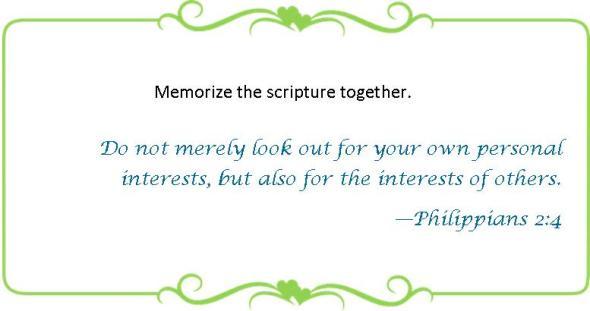 059 memorize Philippians 2 4