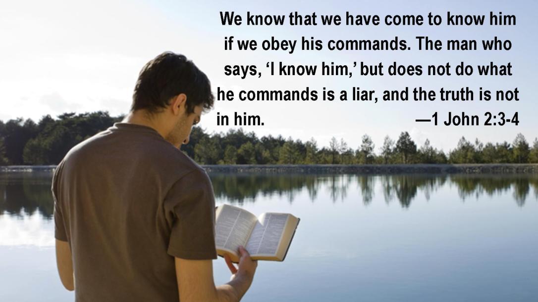 1 John 2 3-4