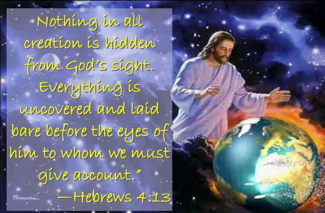 Hebrews 4 13
