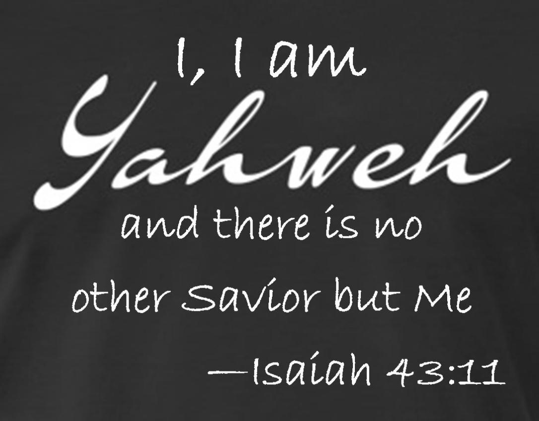 Isaiah 43 11