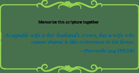 104 memorize Prov 12 4