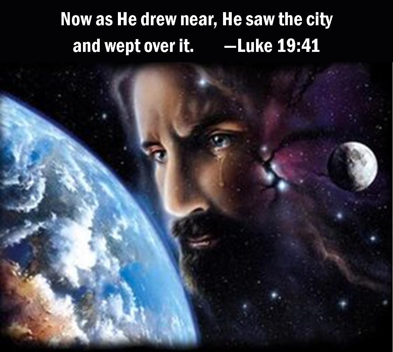 Luke 19 41