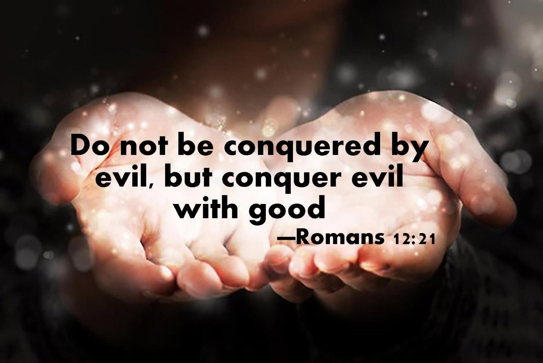 Romans 12 21