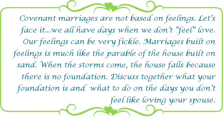 138 covenant marriage