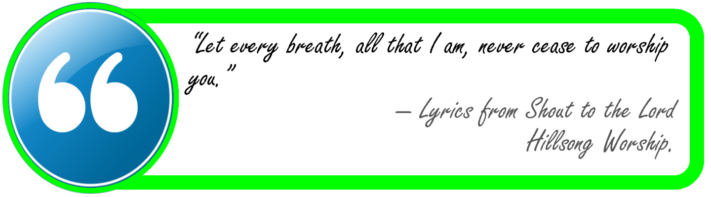Let every breath-hillsong worship