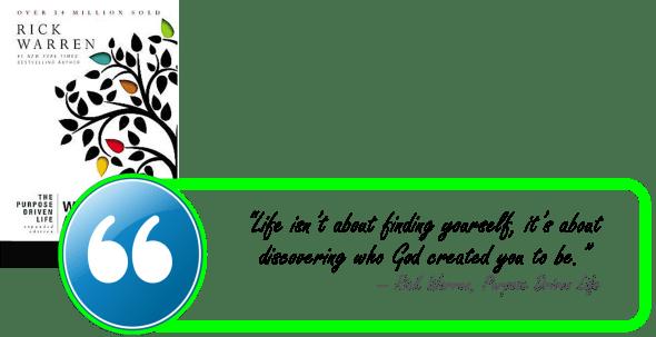 RWarren-Purpose Driven Life-Finding Self