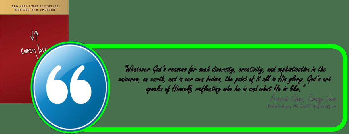 Chan - reason for Gods diversity