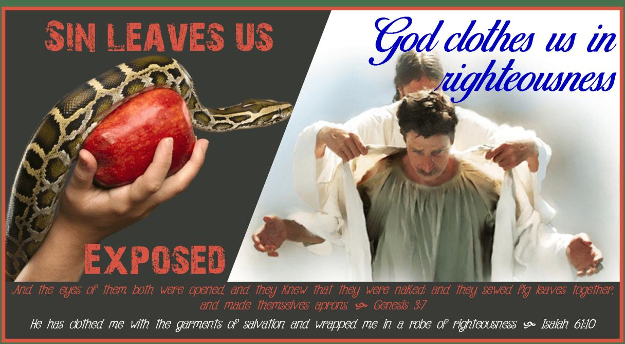sin leaves us exposed