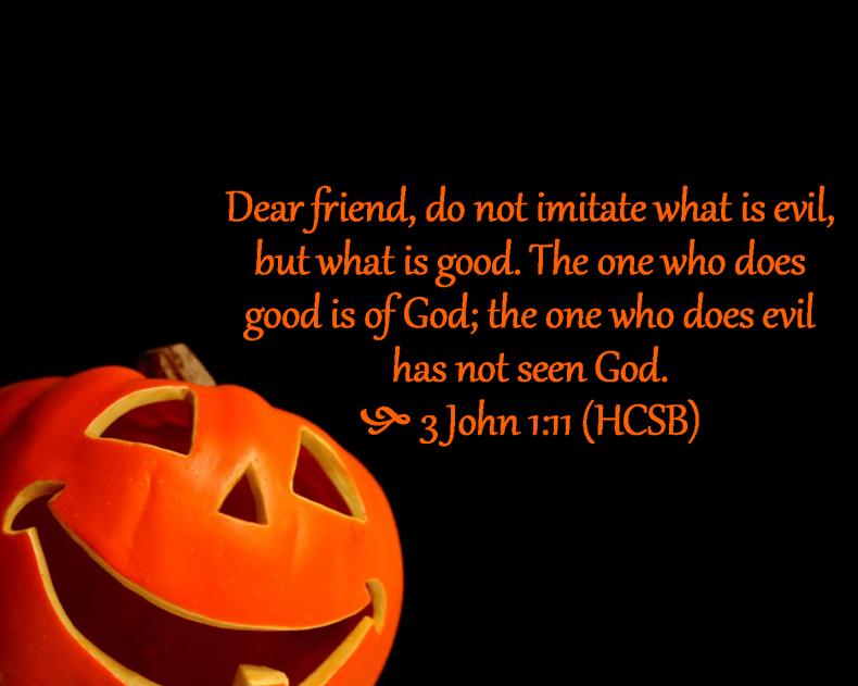 3 John 1 11 HCSB