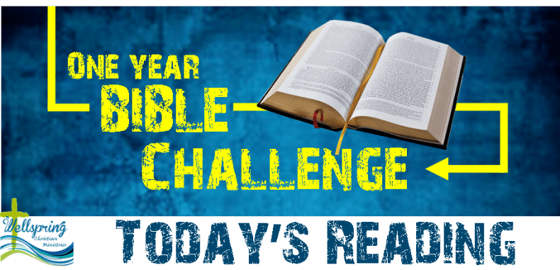 Bible reading challenge