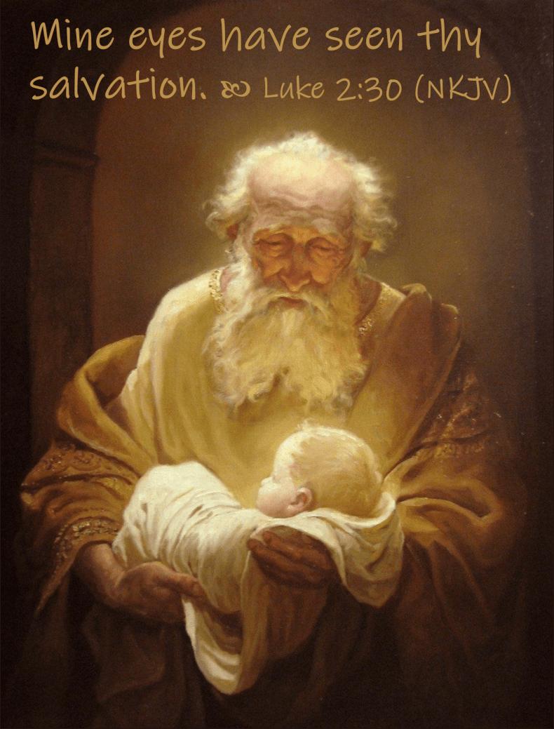 March 22 Luke 2 30 NKJV