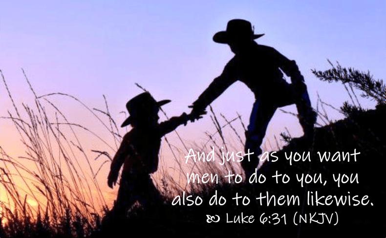 March 28 Luke 6 31 NKJV