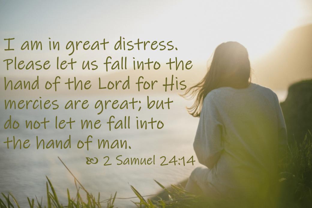 April 30 2 Samuel 24 15 NKJV