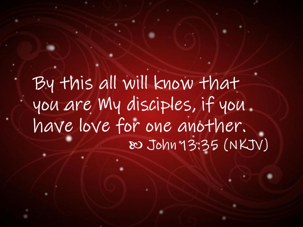John 13:35