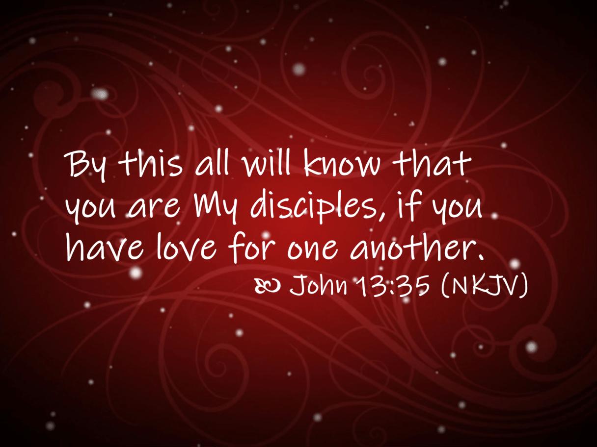 Jun 03 John 13 35