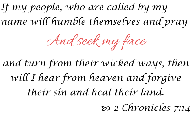 2 Chronicles 7 14 2020