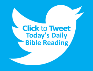 click to tweet daily Bible reading