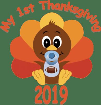 1st Thanksgiving - boy