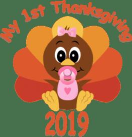 1st Thanksgiving-girl