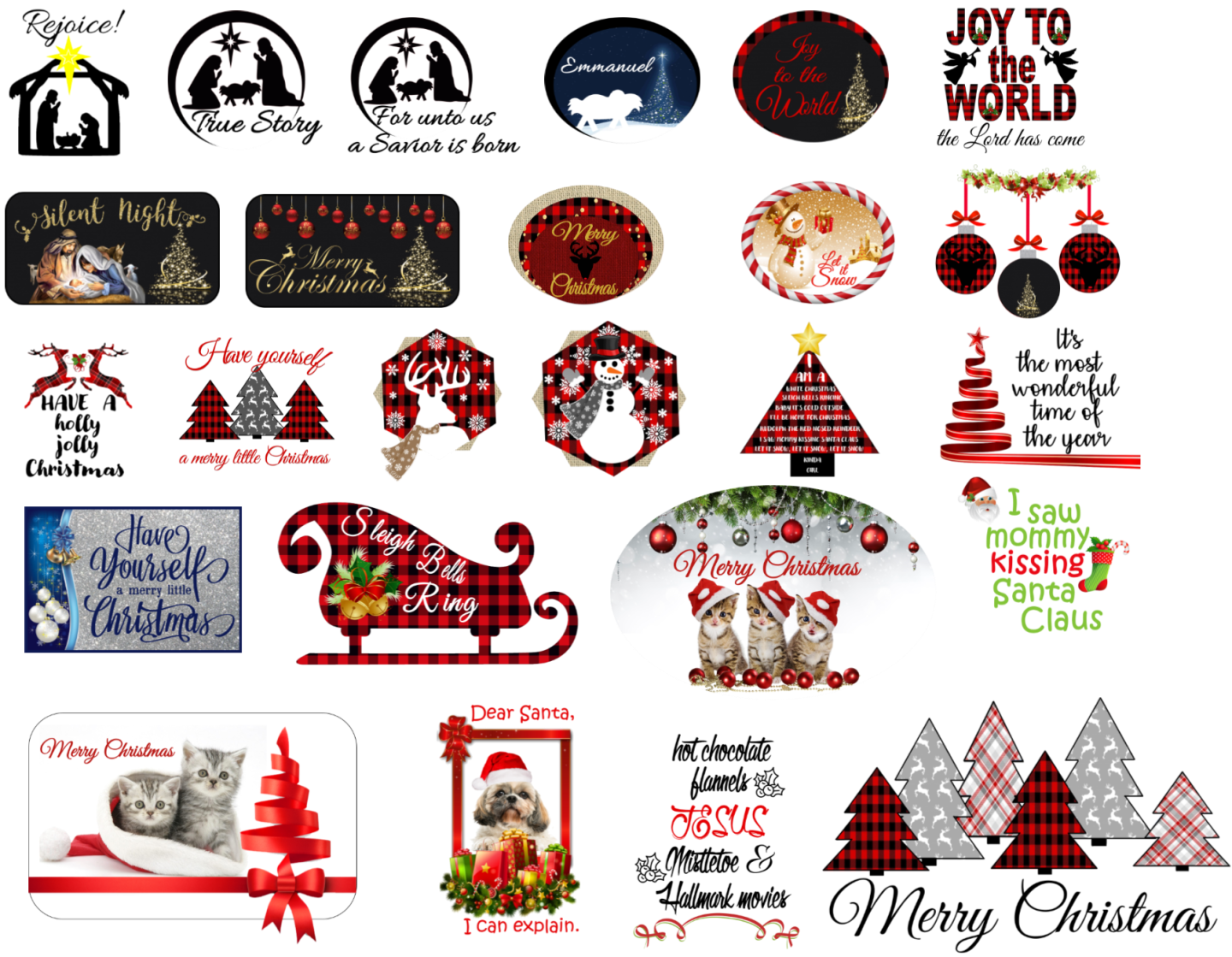Christmas tee shirt design line