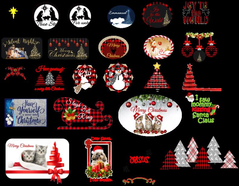 Christmas tee shirt design line