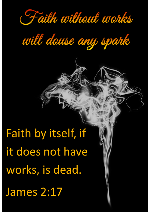 Developing Faith must include engaging members because faith without works is dead.