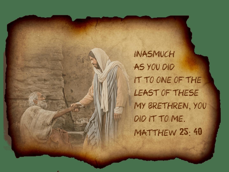 Feb 9 Matthew 25 40