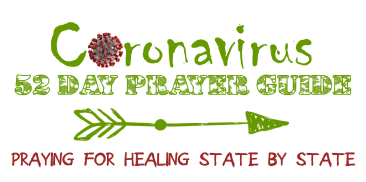 coronavirus prayer guide logo