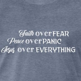 faith over fear sample close up