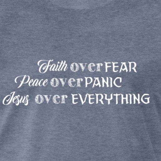 faith over fear sample close up