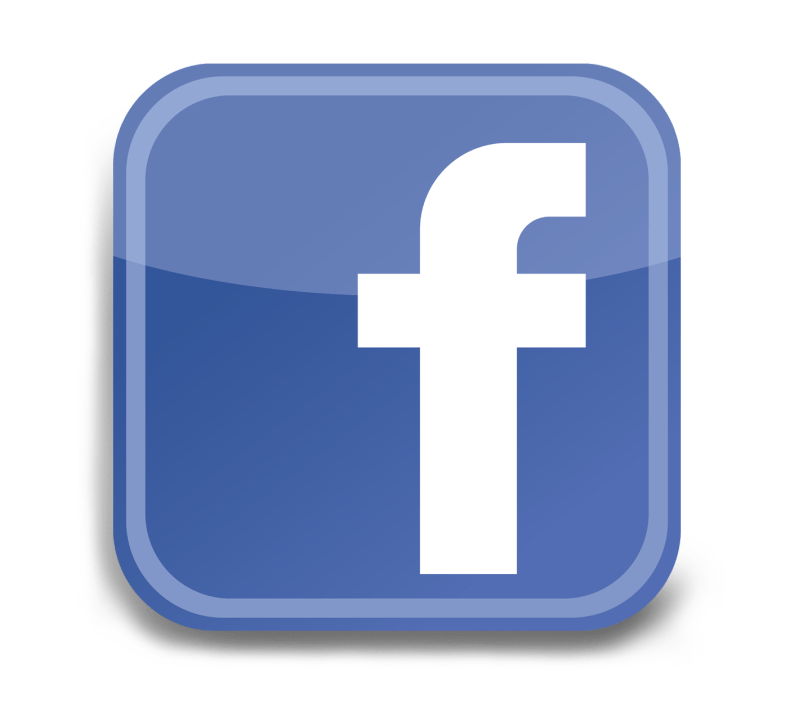 facebook logo link on Bible reading post