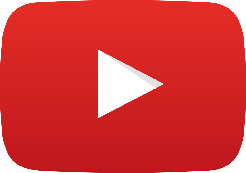 YouTube logo link on self-care post