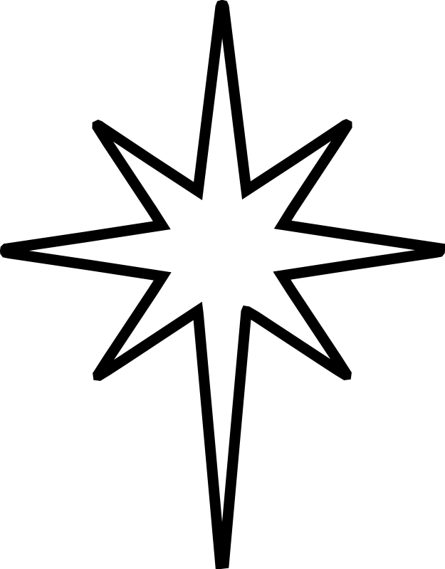 Nativity Star Chrismons
