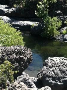 Basalt Rocks at Upper Bidwell Park, Chico, California