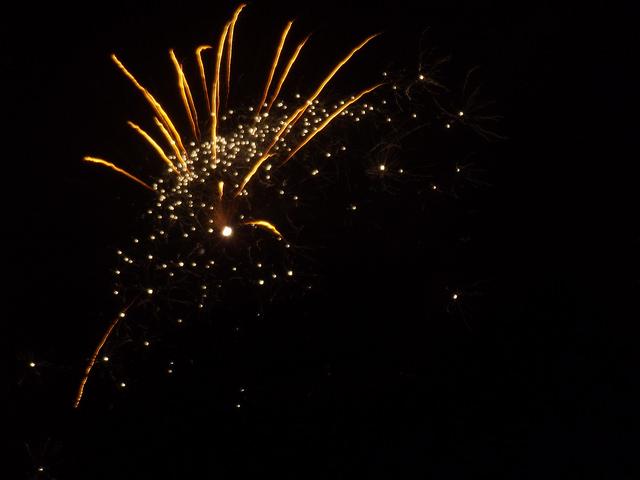 Sparks of light. Fireworks photo by Elliot Brown via Flickr