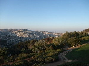 Jerusalem view by Sebastian Wallroth, via Flickr