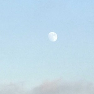 Almost full moon, JHD