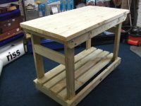 Solid Heavy Duty Workbench | Picnic Benches | Pub Garden ...