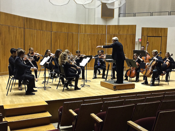Classical music String music and a piano for small hands wind music and band music  This week