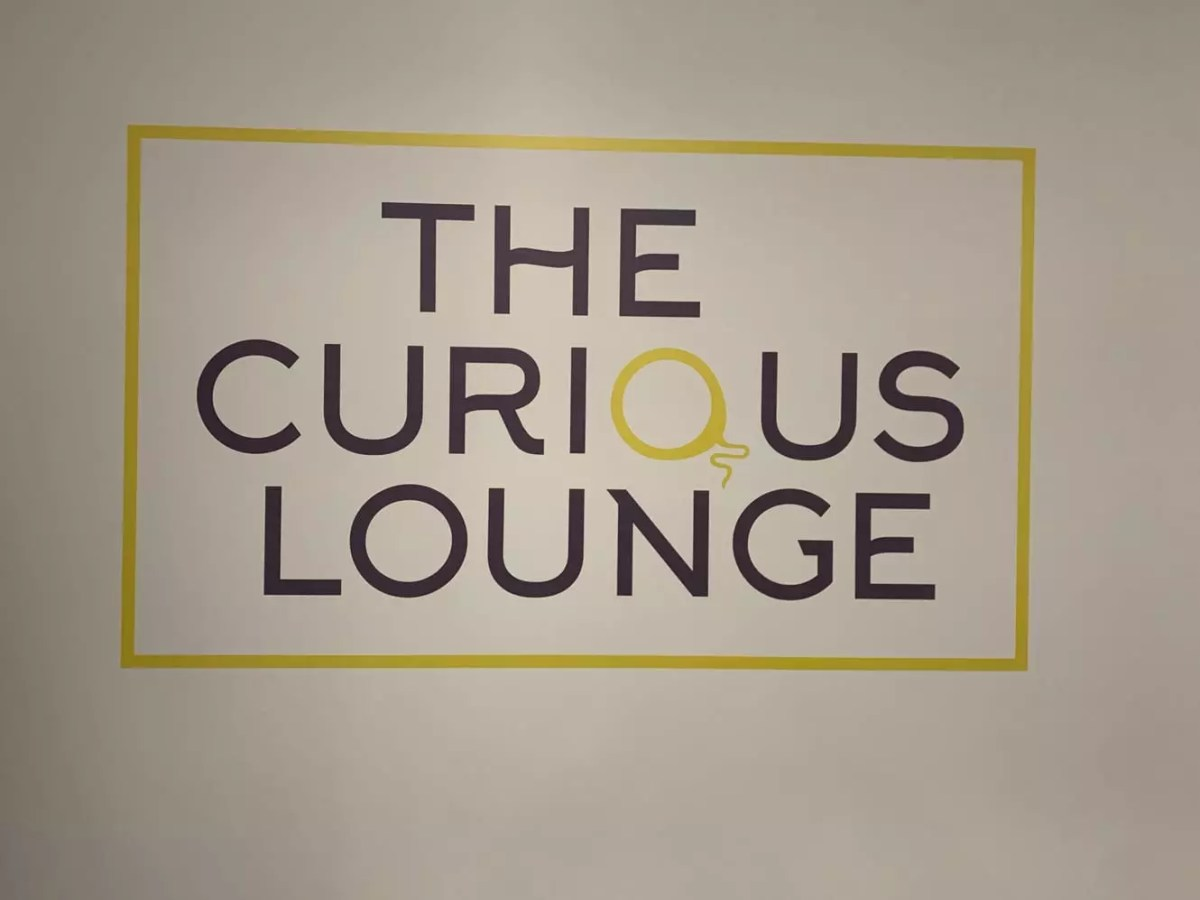 the curious lounge, reading a new co-working space