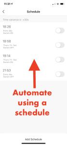 smarthome set up smart plugs - automate